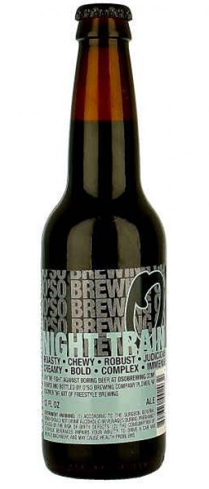 Night Train by O'so Brewing Company in Wisconsin, United States