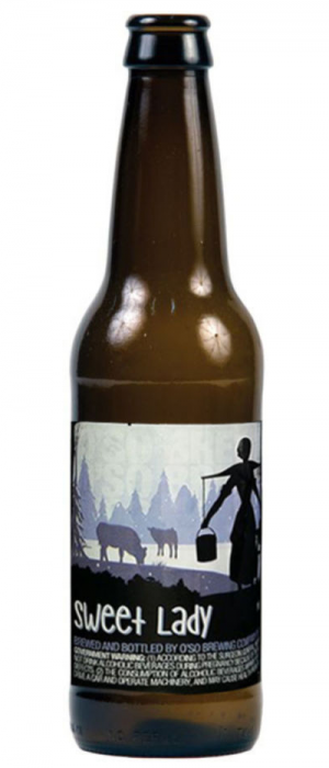 Sweet Lady Stout by O'so Brewing Company in Wisconsin, United States