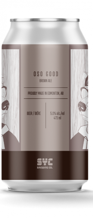 OSO GOOD by SYC Brewing Co. in Alberta, Canada