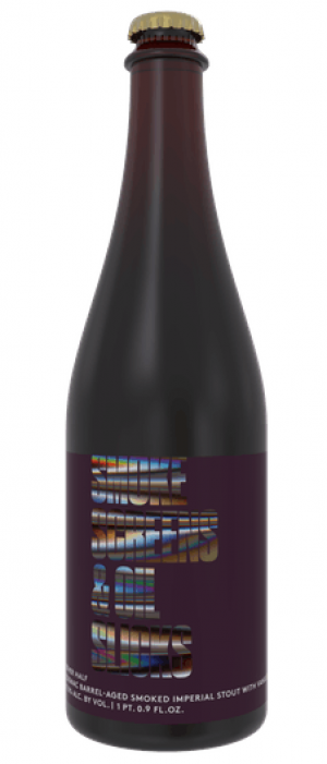 Cognac Barrel-Aged Smoke Screens & Oil Slicks with Vanilla by Other Half Brewing Company in New York, United States