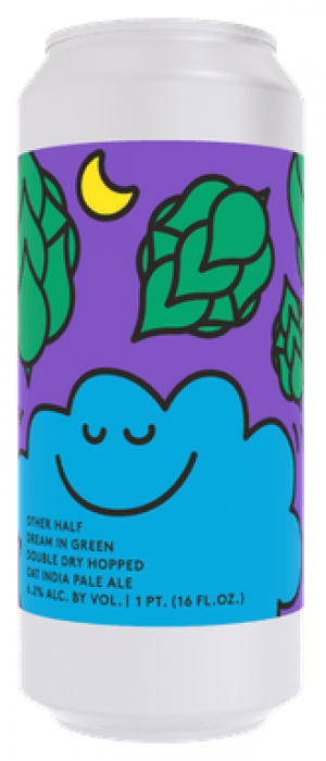 DDH Dream In Green by Other Half Brewing Company in New York, United States