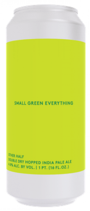 DDH Small Green Everything by Other Half Brewing Company in New York, United States