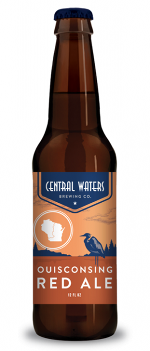 Ouisconsing Red Ale by Central Waters Brewing Company in Wisconsin, United States