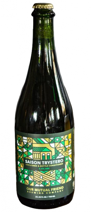 Saison Trystero by Our Mutual Friend Brewing in Colorado, United States