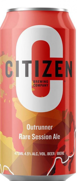 Outrunner Rare Session Ale by Citizen Brewing Company in Alberta, Canada