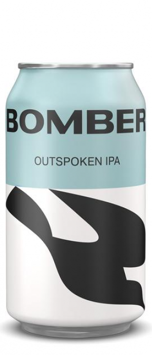 Outspoken IPA by Bomber Brewing in British Columbia, Canada