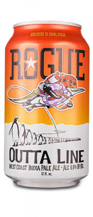 Outta Line IPA by Rogue in Oregon, United States