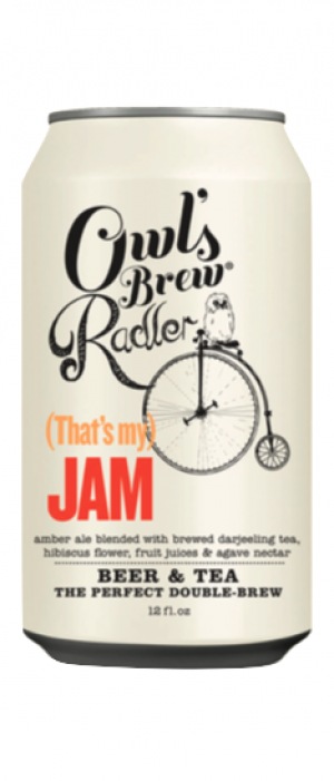 Owl's Brew Radler (That's my) Jam