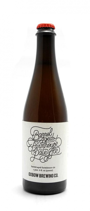 Barrel-Aged Farmhouse Pale Ale by Oxbow Brewing Company in Maine, United States