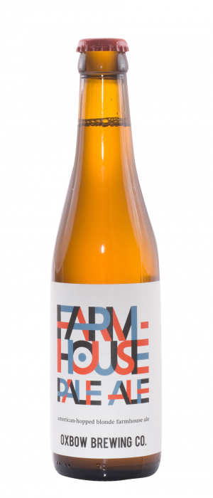 Farmhouse Pale Ale by Oxbow Brewing Company in Maine, United States