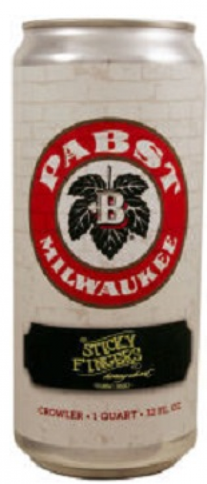 Sticky Fingers Honey Wheat by Pabst Brewing Company in Texas, United States