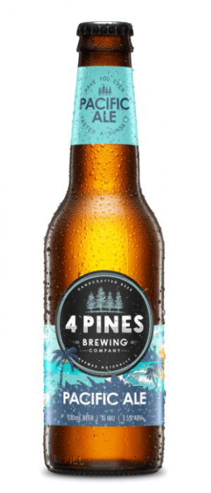 Pacific Ale by 4 Pines Brewing Company in New South Wales, Australia