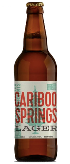 Cariboo Springs Lager by Cariboo Brewing in British Columbia, Canada
