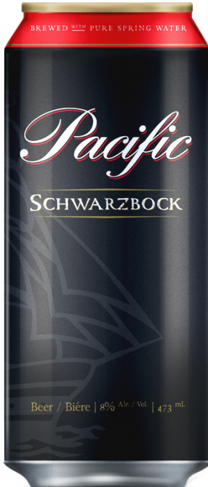 Pacific Schwarzbock by Pacific Western Brewing Co. in British Columbia, Canada