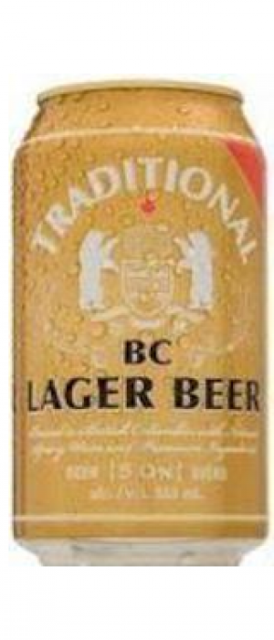 Traditional BC Lager by Pacific Western Brewing Co. in British Columbia, Canada