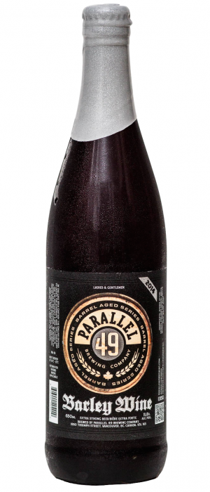 Barley Wine 2014 by Parallel 49 Brewing in British Columbia, Canada