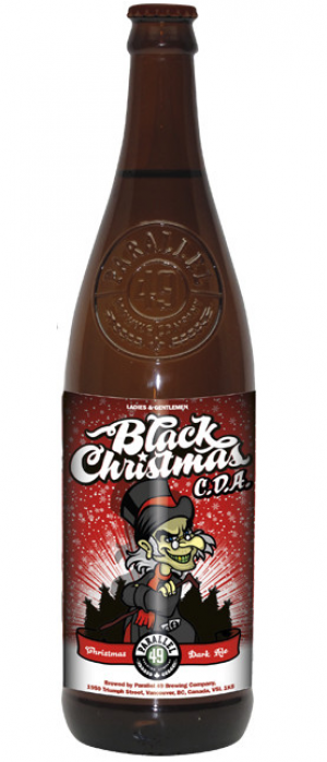 Black Christmas by Parallel 49 Brewing in British Columbia, Canada
