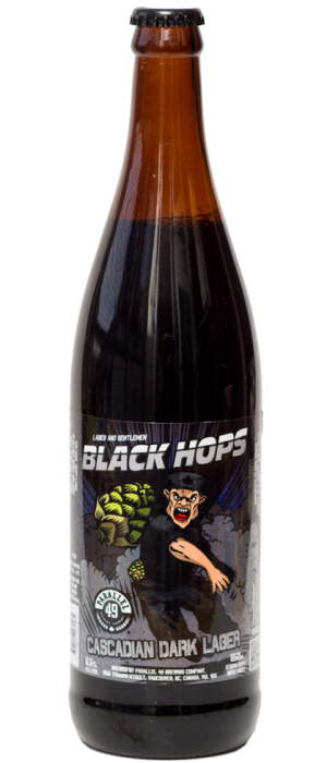 Black Hops by Parallel 49 Brewing in British Columbia, Canada
