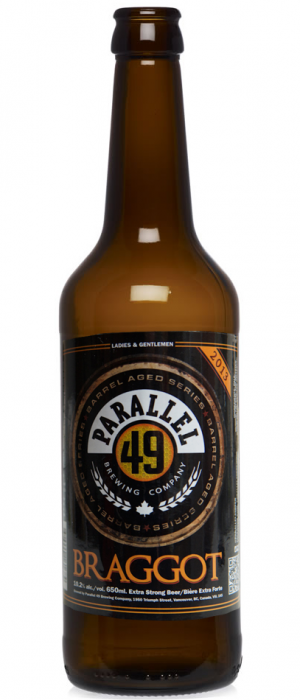 Braggot by Parallel 49 Brewing in British Columbia, Canada