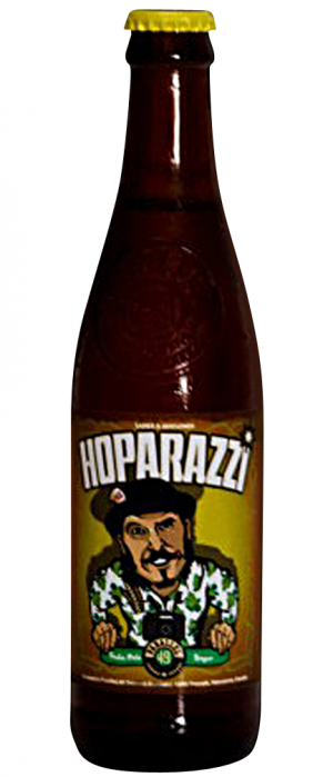 Hoparazzi by Parallel 49 Brewing in British Columbia, Canada