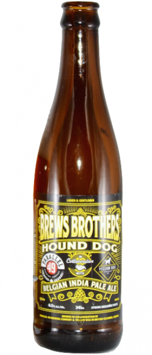 Hound Dog by Parallel 49 Brewing in British Columbia, Canada