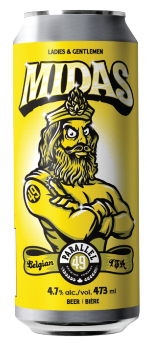 Midas by Parallel 49 Brewing in British Columbia, Canada