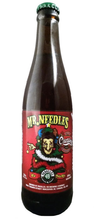 Mr. Needles by Parallel 49 Brewing in British Columbia, Canada
