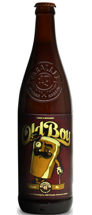 Old Boy by Parallel 49 Brewing in British Columbia, Canada