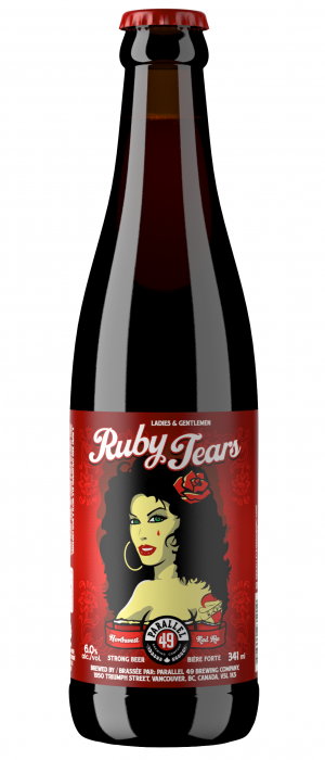 Ruby Tears by Parallel 49 Brewing in British Columbia, Canada
