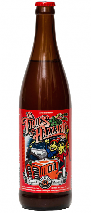 Toques of Hazzard by Parallel 49 Brewing in British Columbia, Canada