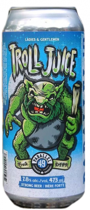 Troll Juice Kveik DIPA by Parallel 49 Brewing in British Columbia, Canada