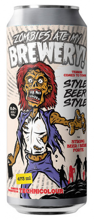 Zombies Ate My Brewery! (Collaboration with Blindman Brewing) by Parallel 49 Brewing in British Columbia, Canada