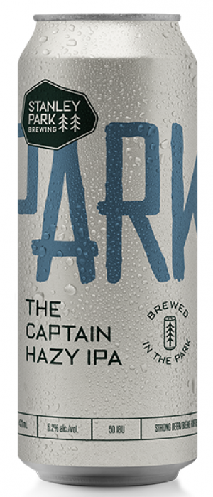 Parkbeer: The Captain Hazy IPA by Stanley Park Brewing in British Columbia, Canada