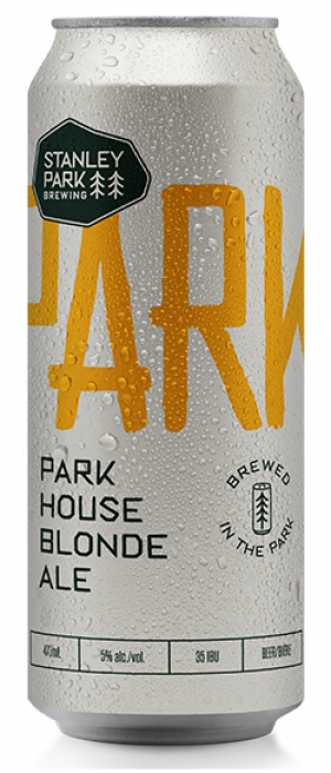 Parkbeer: Park House Blonde Ale by Stanley Park Brewing in British Columbia, Canada