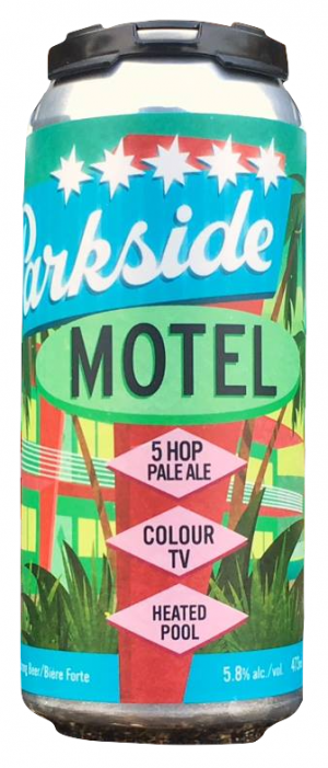 Motel Pale Ale by The Parkside Brewery in British Columbia, Canada