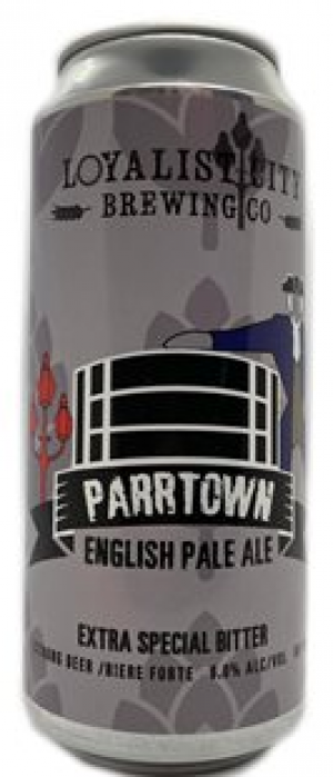 Parrtown English Pale Ale by Loyalist City Brewing Co. in New Brunswick, Canada