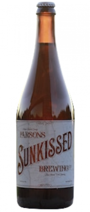 Sunkissed Grape Ale by Parsons Brewing Company in Ontario, Canada