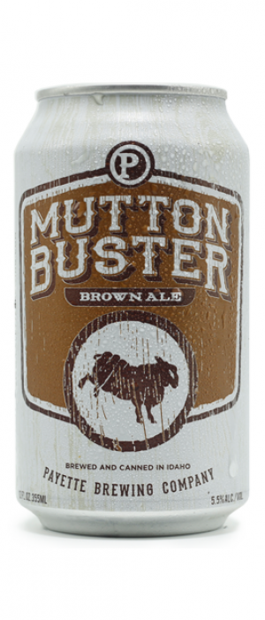 Mutton Buster Brown Ale by Payette Brewing Company in Idaho, United States