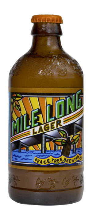 Mile Long Lager by Peace Tree Brewing Co. in Iowa, United States