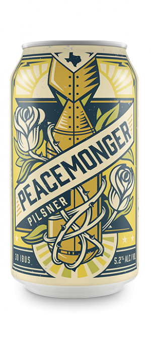 Peacemonger by Unlawful Assembly Brewing Company in Texas, United States