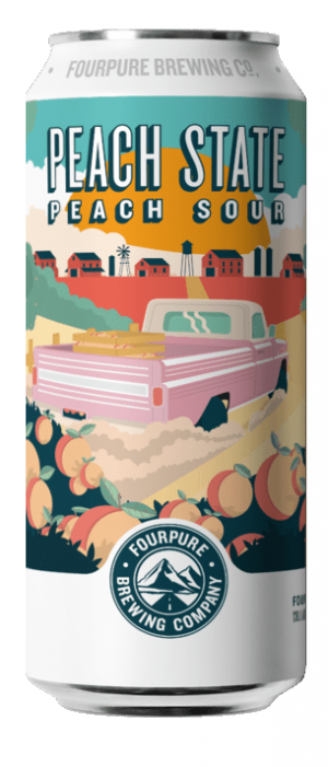 Peach State by Fourpure Brewing Co. in London - England, United Kingdom