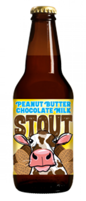 Peanut Butter Chocolate Milk Stout by Lost Coast Brewery in California, United States