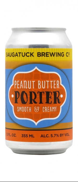 Peanut Butter Porter by Saugatuck Brewing Company in Michigan, United States