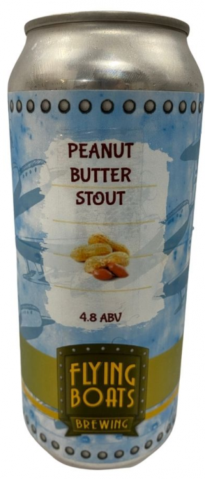 Peanut Butter Stout by Flying Boats Brewing in New Brunswick, Canada