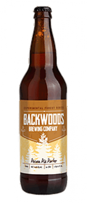 Pecan Pie Porter by Backwoods Brewing Company in Washington, United States