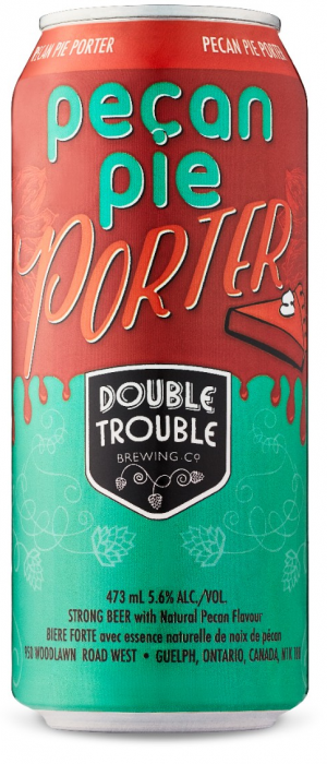 Pecan Pie Porter by Double Trouble Brewing Company in Ontario, Canada