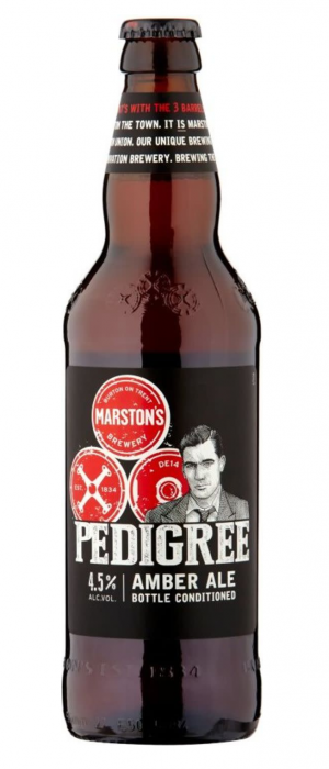 Pedigree Amber Ale by Marston's Brewery in Staffordshire - England, United Kingdom