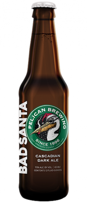 Bad Santa by Pelican Brewing Company in Oregon, United States