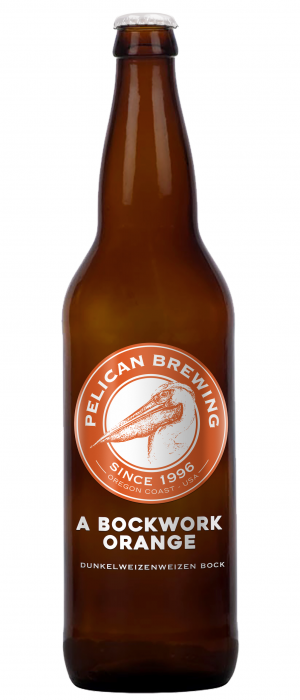A Bockwork Orange by Pelican Brewing Company in Oregon, United States