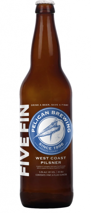 Five Fin by Pelican Brewing Company in Oregon, United States